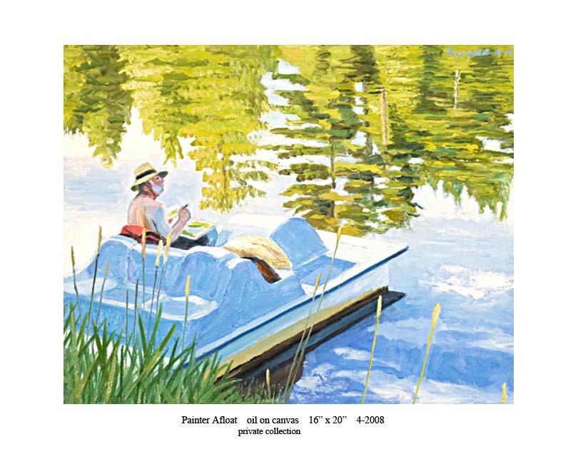 6) Painter Afloat 16 x 20 4-2008.jpg
