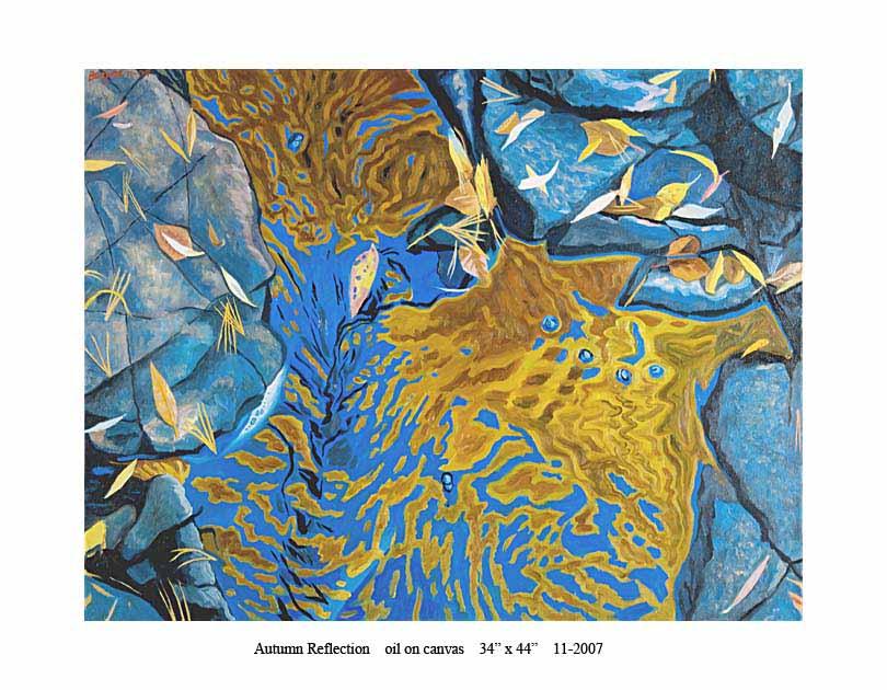 1) Autumn Reflection 34 x 44 11-2007.jpg