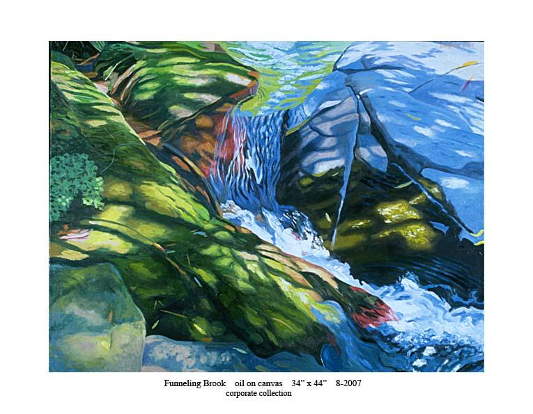 5) Funneling Brook 34 x 44 8-2007.jpg