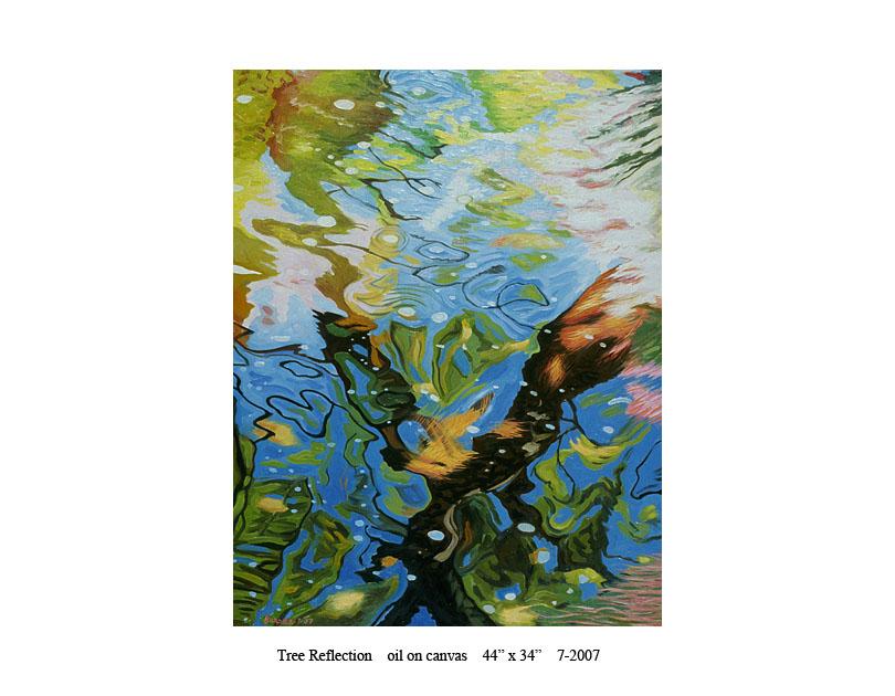 7) Tree Reflection 44 x 34 7-2007.jpg