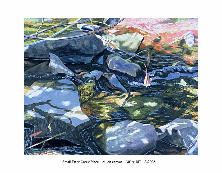 6) 8-2006 Small Dark Creek Place 30 x 38.jpg