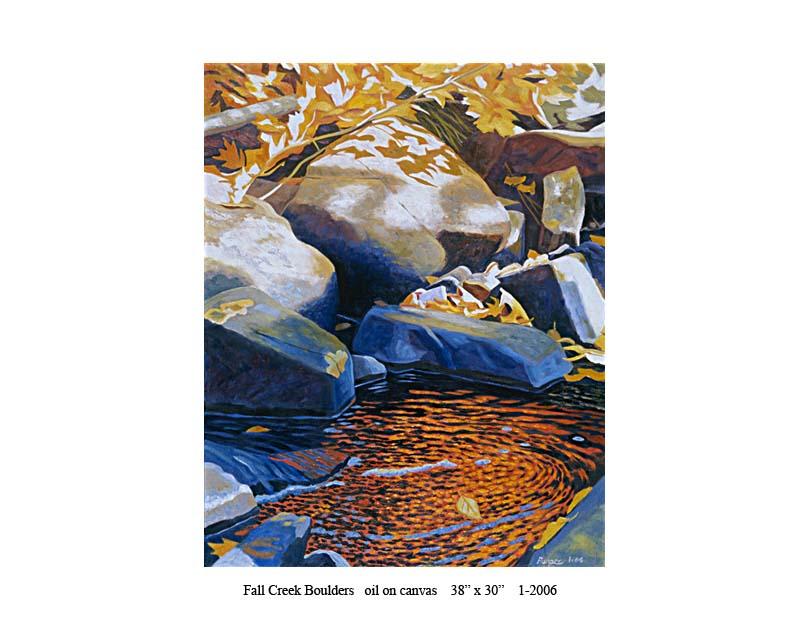 10) 1-2006 Fall Creek Boulders 38 x 30 .jpg