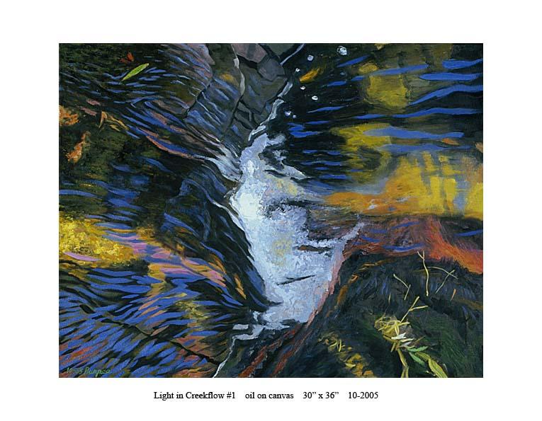 5) 10-2005 Light in Creekflow #1 30 x 36.jpg