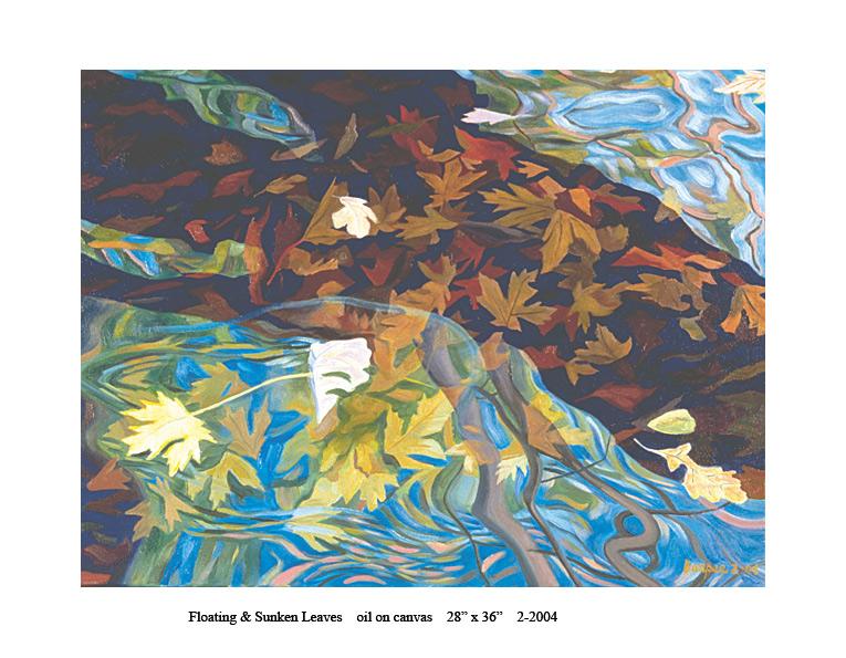 5) 2-2004 Floating & Sunken Leaves 28 x 36.jpg