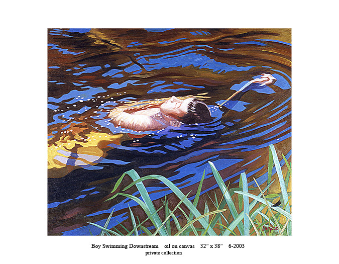 9)-6-2003-Boy-Swimming-Downstream-32-x-38.jpg