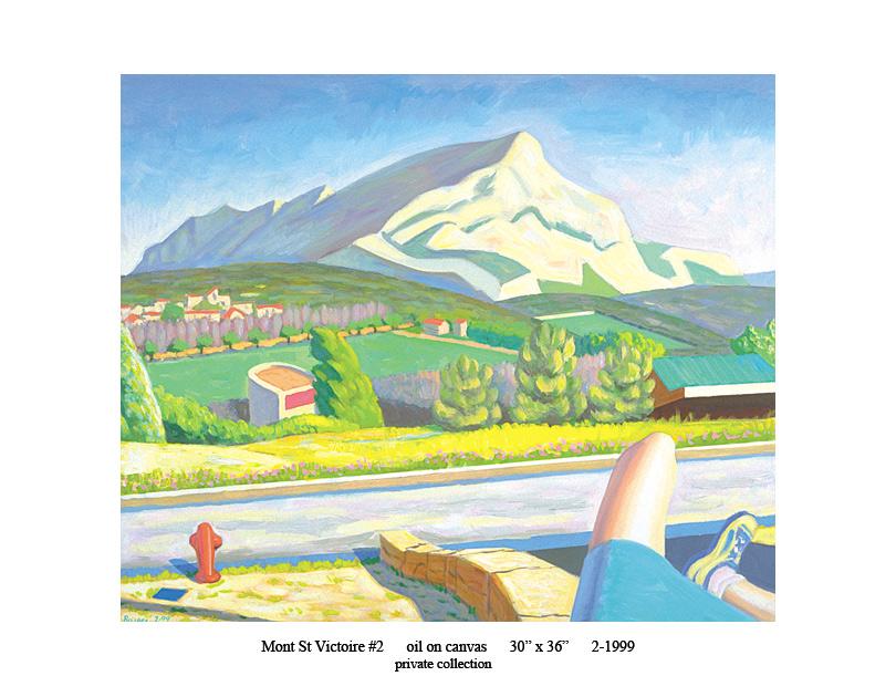 3) 2-1999 Mont St Victoire #2 30 x 36.jpg