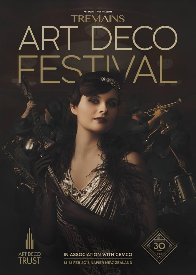 Richard Wood Photography // Abby Schofield Hair - Art Deco Trust  Branding Posters 2018