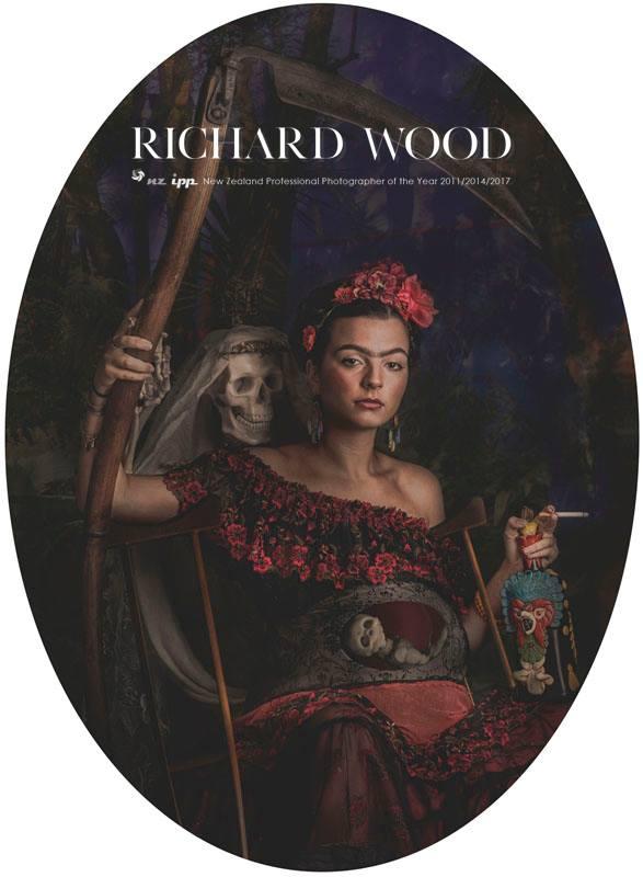 Richard Wood Photography // Abby Schofield Hair - NZIPP Awards -Freida Kahlo