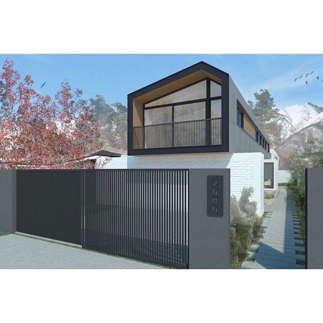 Fachada #casa_bv   #beleve_arq #beleve_construcción   + info www.beleve.cl