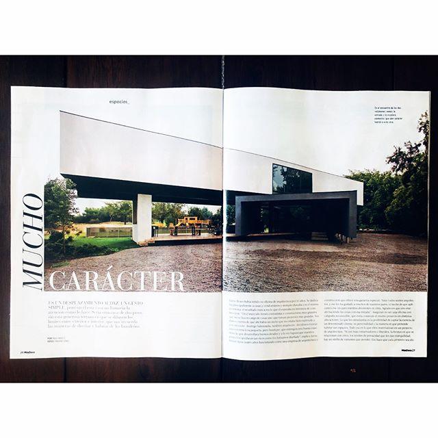 Publicación @revistamasdeco   #casa_vh #casa_oa   +info www.beleve.cl