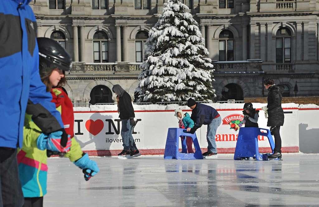 Free Ice Skating: Skate Rentals start at $3