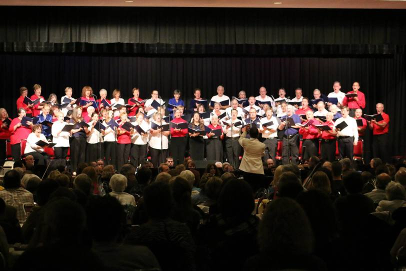 The Syracuse Pops Chorus consists of about 100 skilled volunteers who sing for the joy of it. Founded in 2004, the Syracuse Pops Chorusregularly performs with the Symphoria Orchestra and with other arts organizations in Central New York.