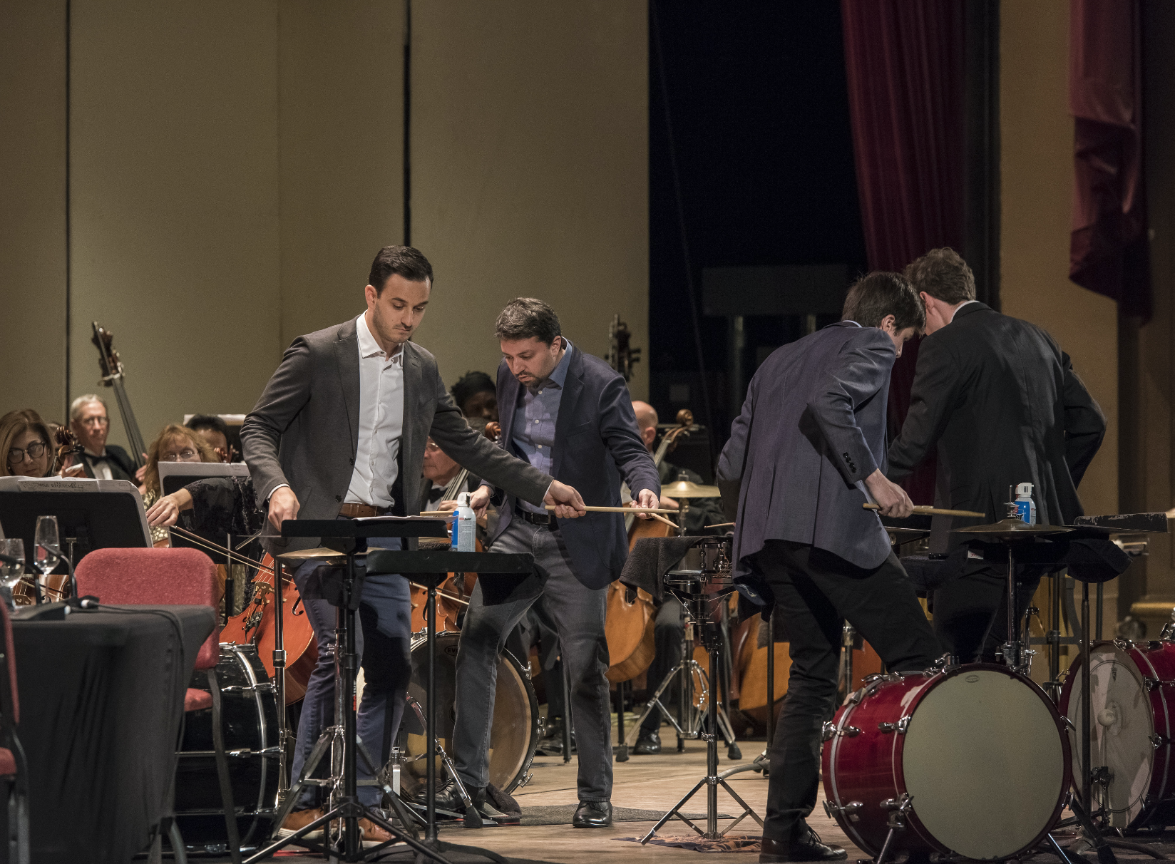 Sandbox Percussion performing the second movement of Viet Cuong's  Re(new)al