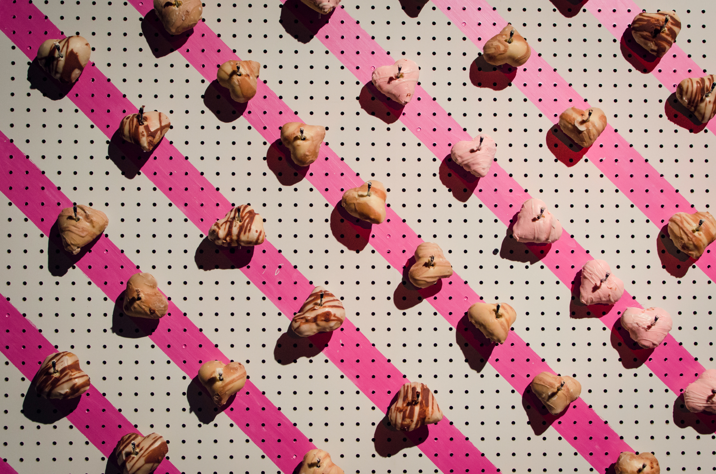 Grab a DOHnut from the decadent donut wall