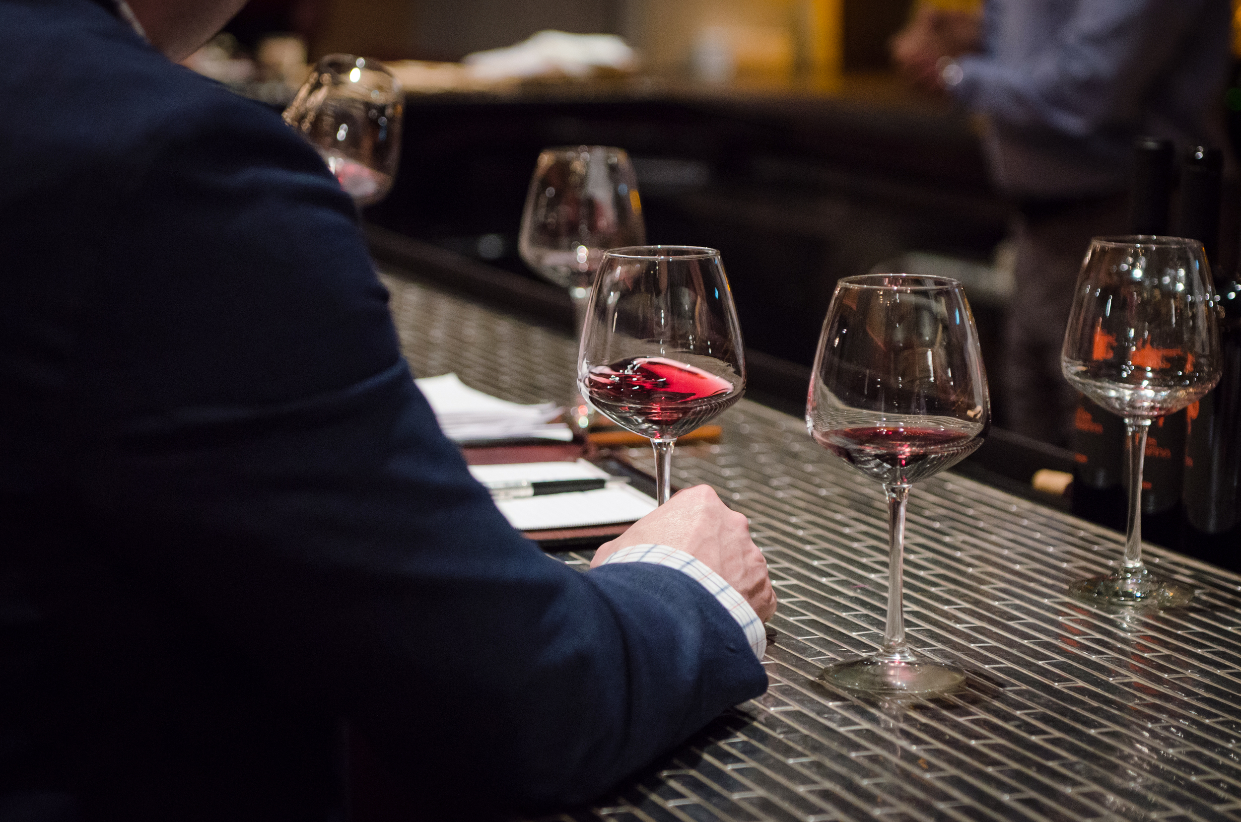 Master Sommeliers can tell the year, region, and type of wine just by tasting it
