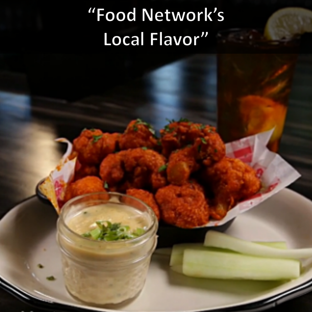 Tavern and Saint Anejo Food Network's Local Flavor