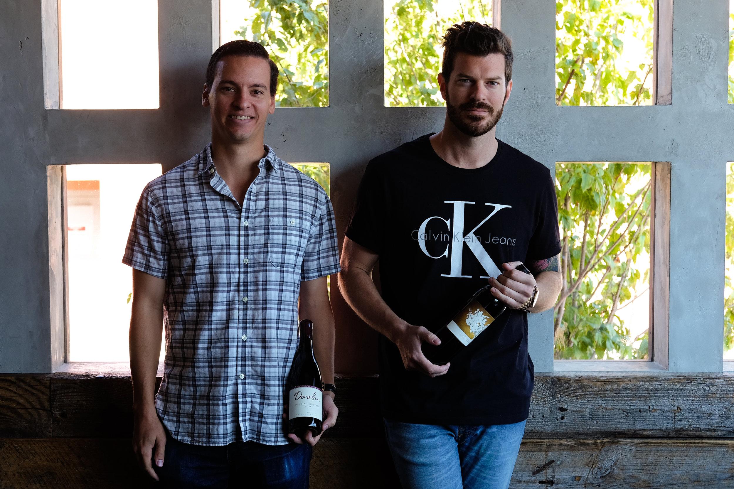 Matt Ramos (left) and Sean McGee (right)