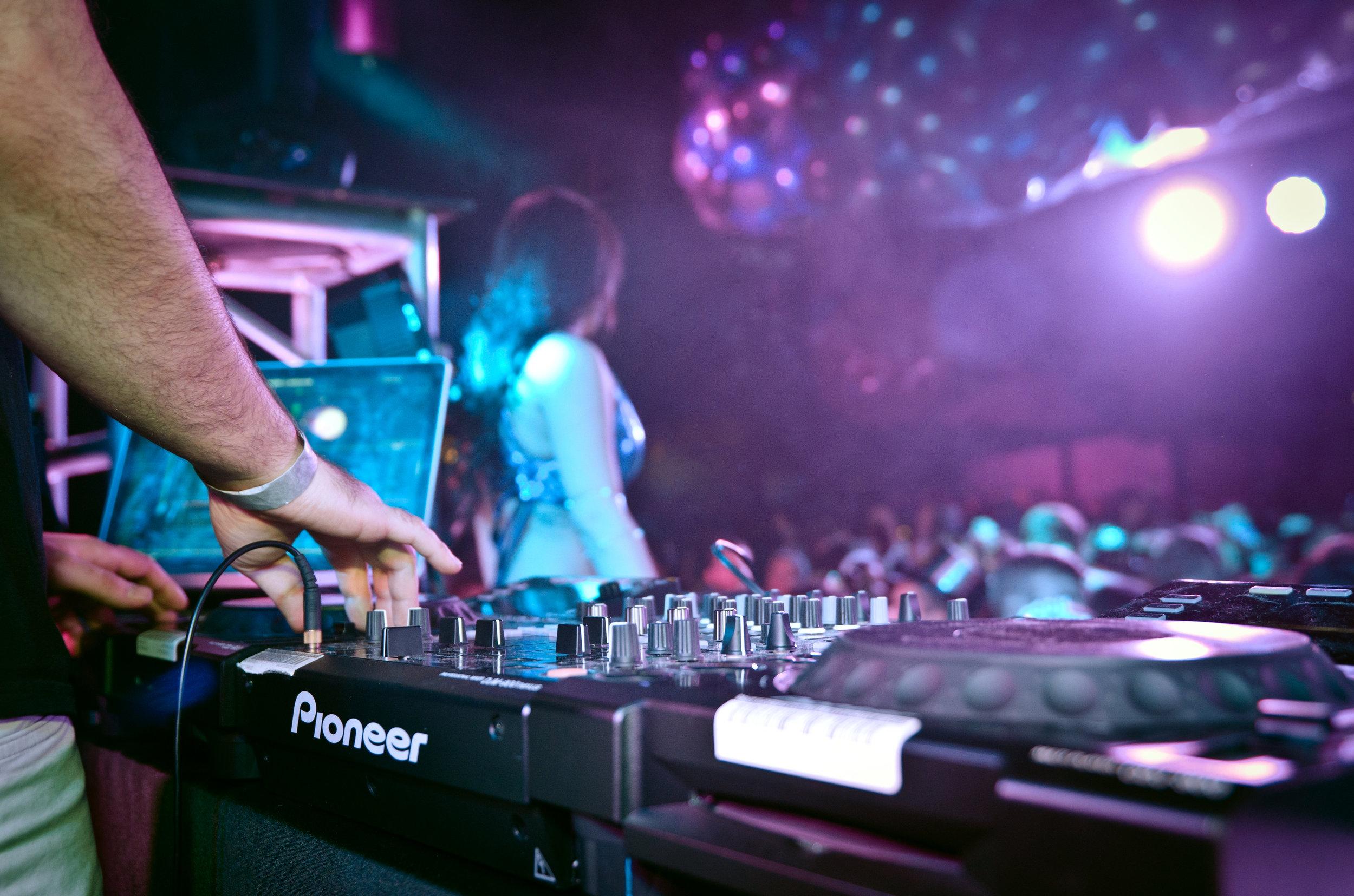 DJ Keno at last year's NYE party