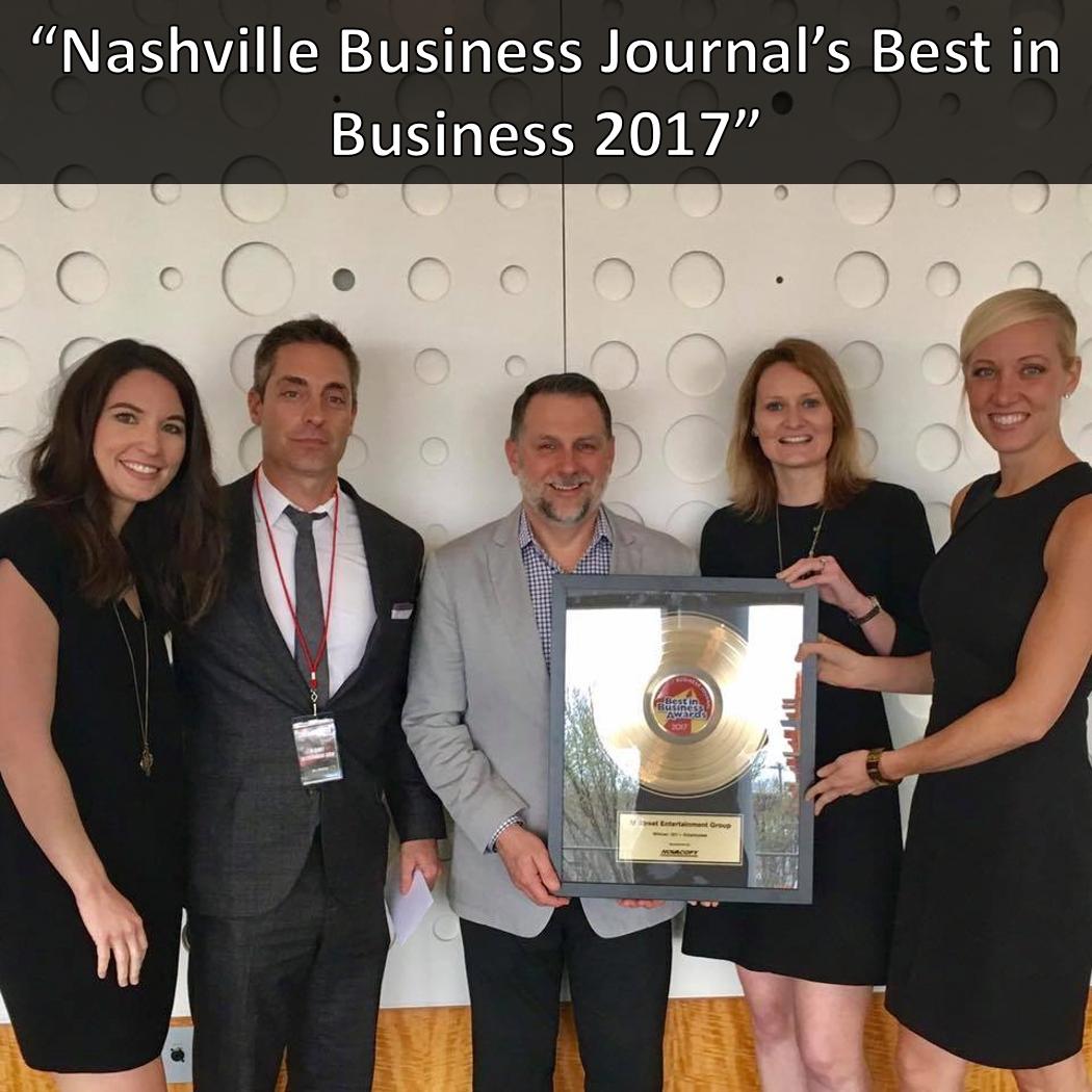 Best in Business Nashville Business Journal