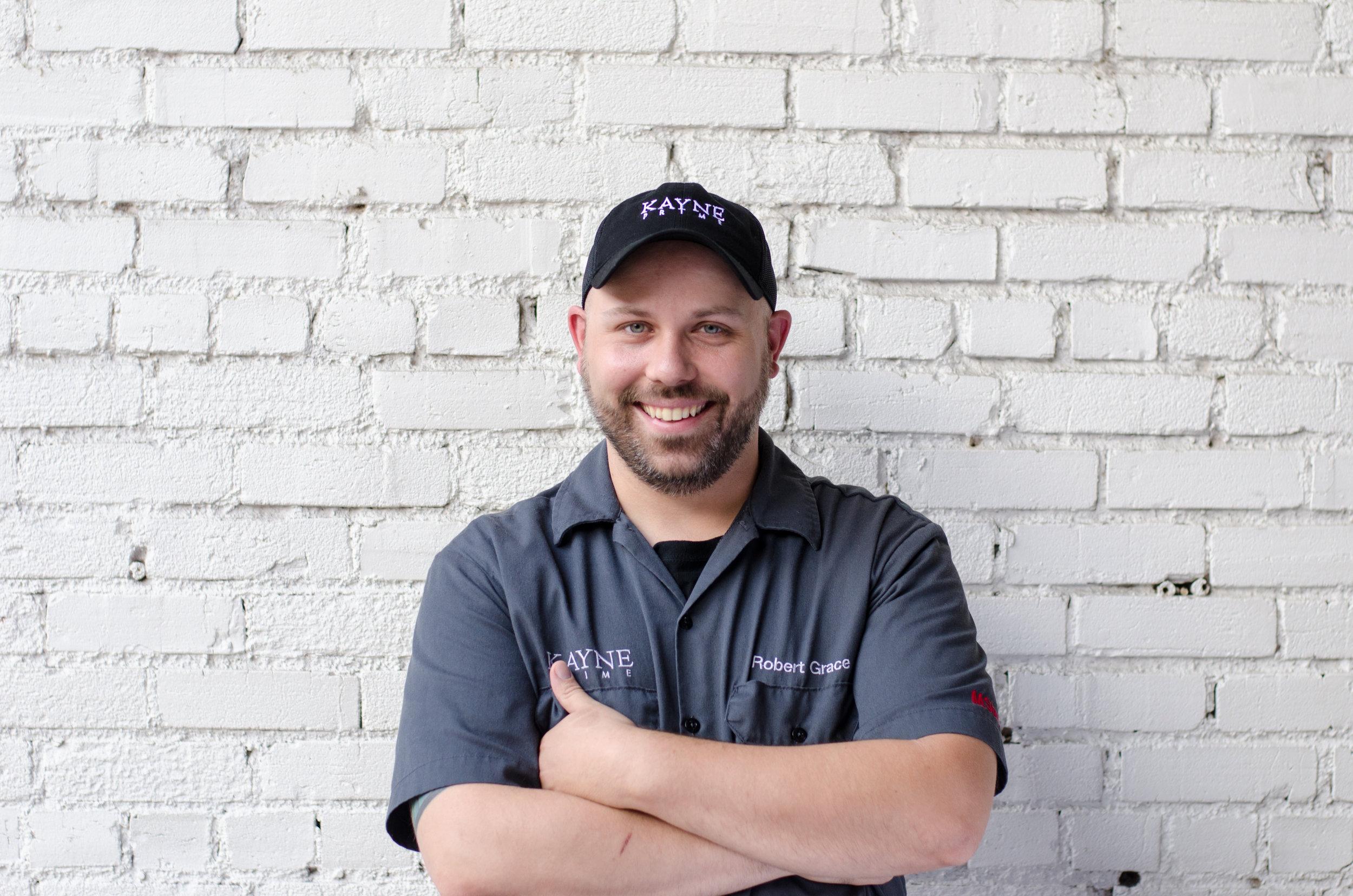 Robert Grace continues to serve as the Executive Chef of Kayne Prime alongside Chef de Cuisine Steven Chandler