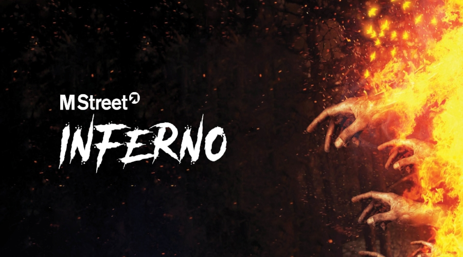 M Street Inferno: Saturday, October 29th | 9:00 pm