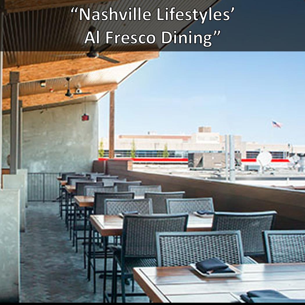 Nashville Lifstyles' Al Fresco Dining