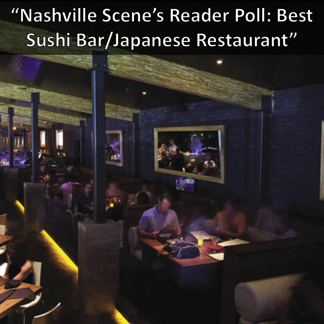 Nashville Scene Reader's Poll: Best Sushi Bar/Japanese Restaurant: Virago