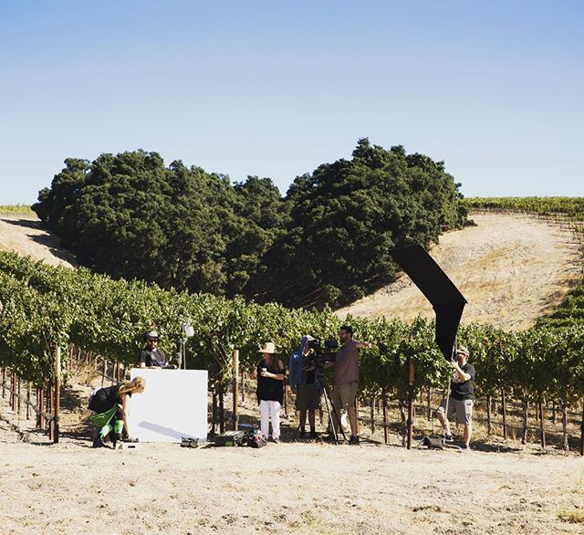 Heart of Paradise crew in front of Heart hill, some things are meant to be💚 #heartofparadisefilm #hearthill #wine #bts #crew #directedbydina