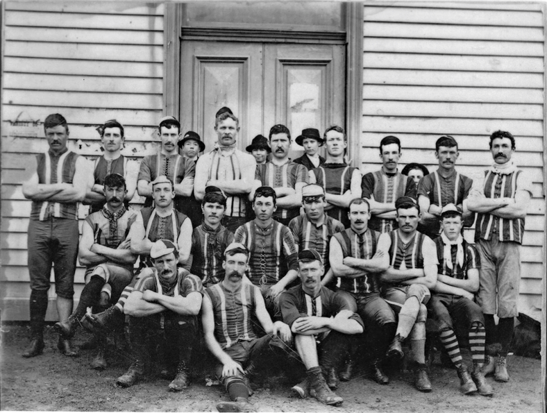 Tallarook Football Team in 1908