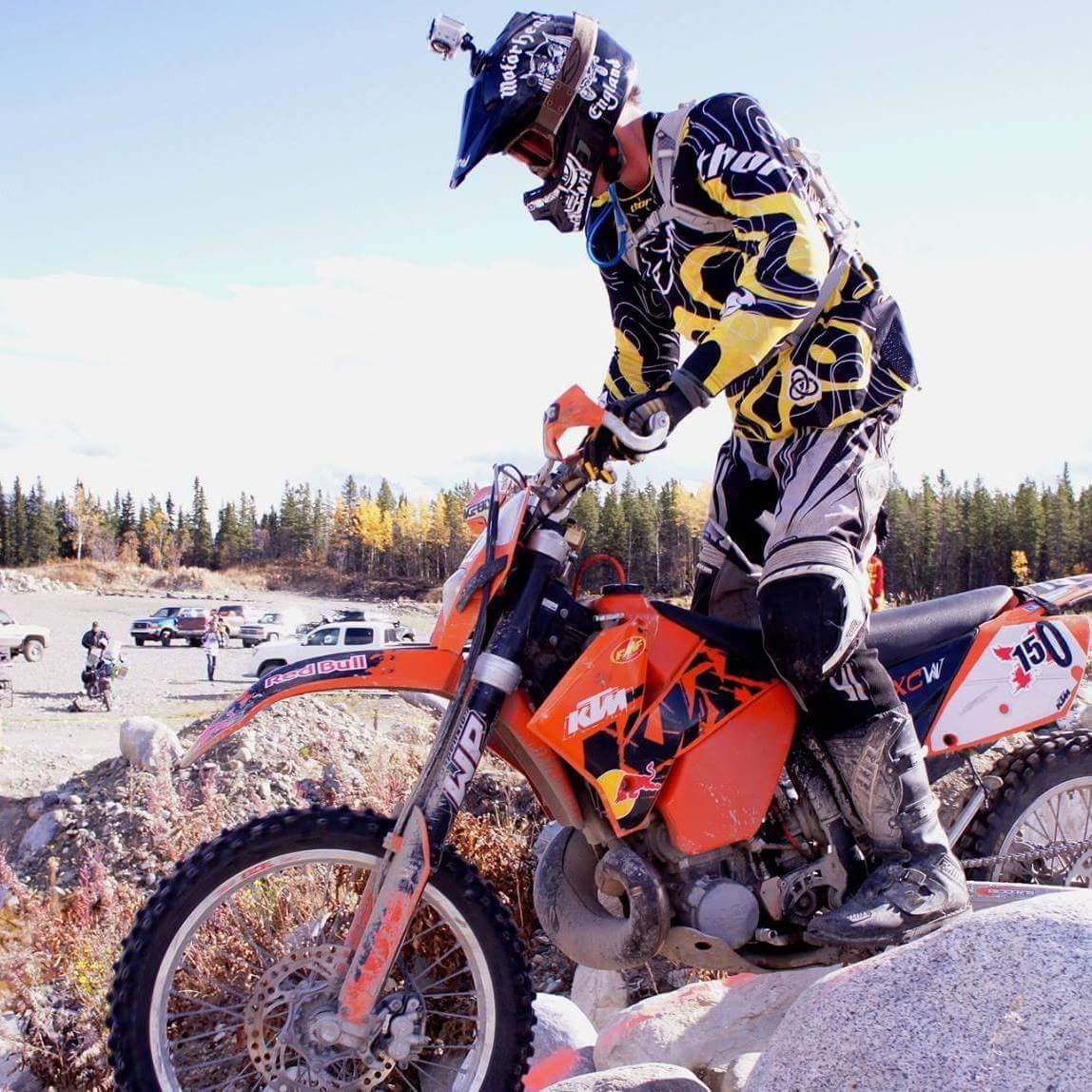 motorcross with rotationplasty