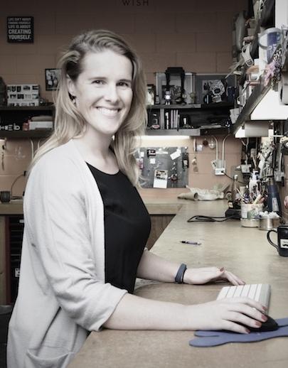 Tessa Richardson, prosthetist