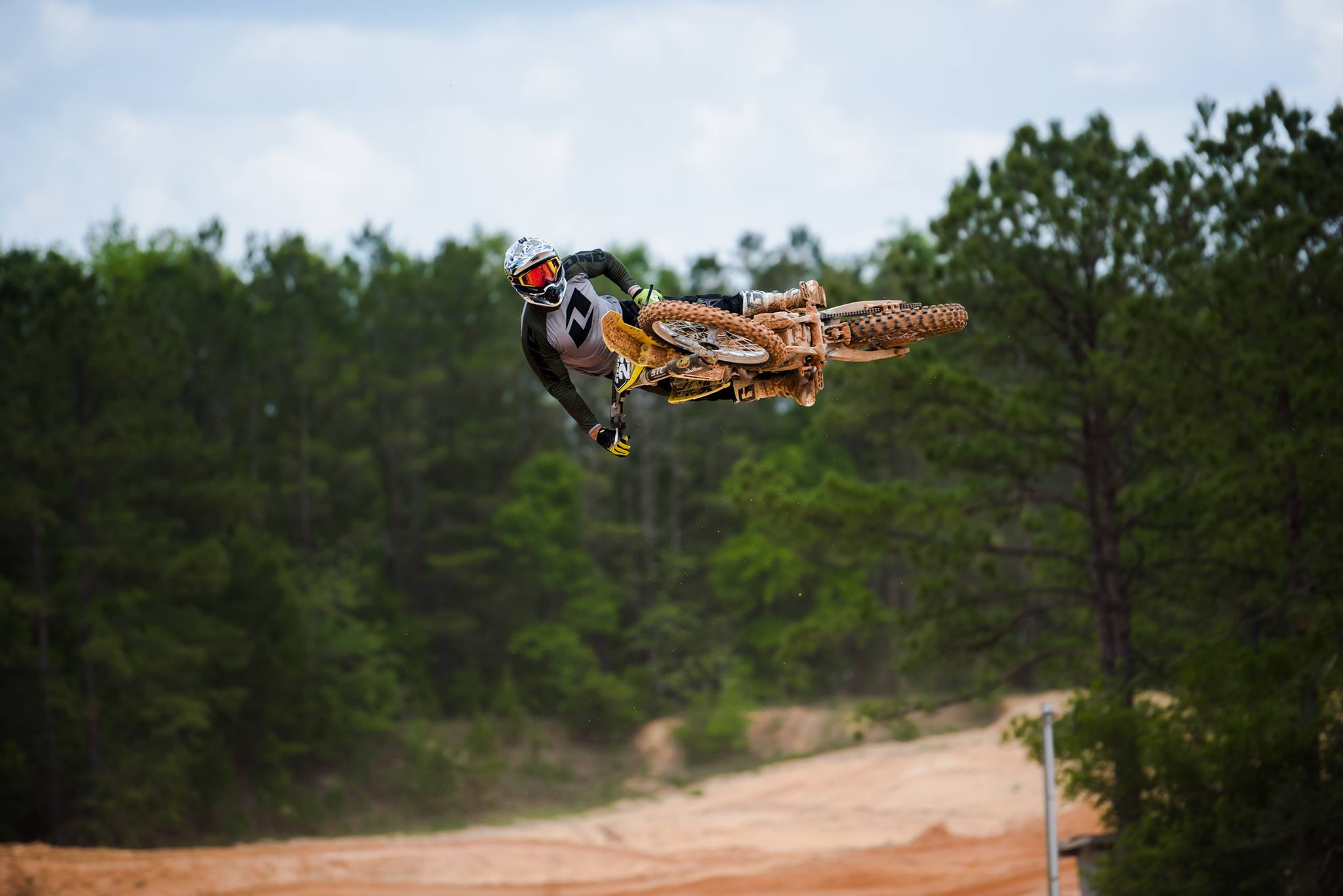 Babe. - He is kind of a badass. A super hot badass. He has been racing Motocross professionally since 1999. Oh, and did I mention how hot and badass he is?