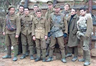 Not that WWI was a particularly diverse conflict, but this still seems like too many white male actors. Good luck keeping them straight.