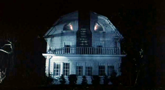 Plus they do a good job of making an otherwise normal looking house appear pretty sinister. If I knew my house looked this creepy at night I would stop turning on the lamps in the attic.
