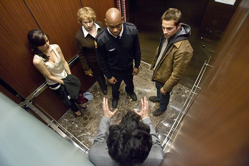 Yeah… y'all should not have gotten into this elevator.