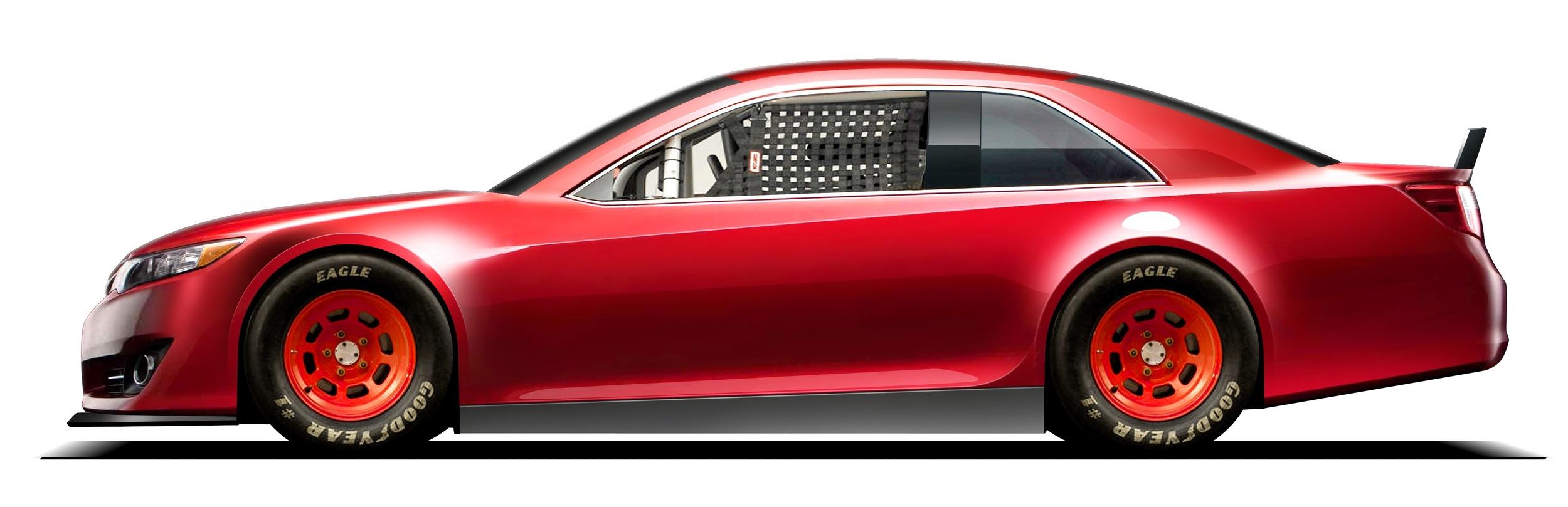 Nascar Cup Car Design Rendering