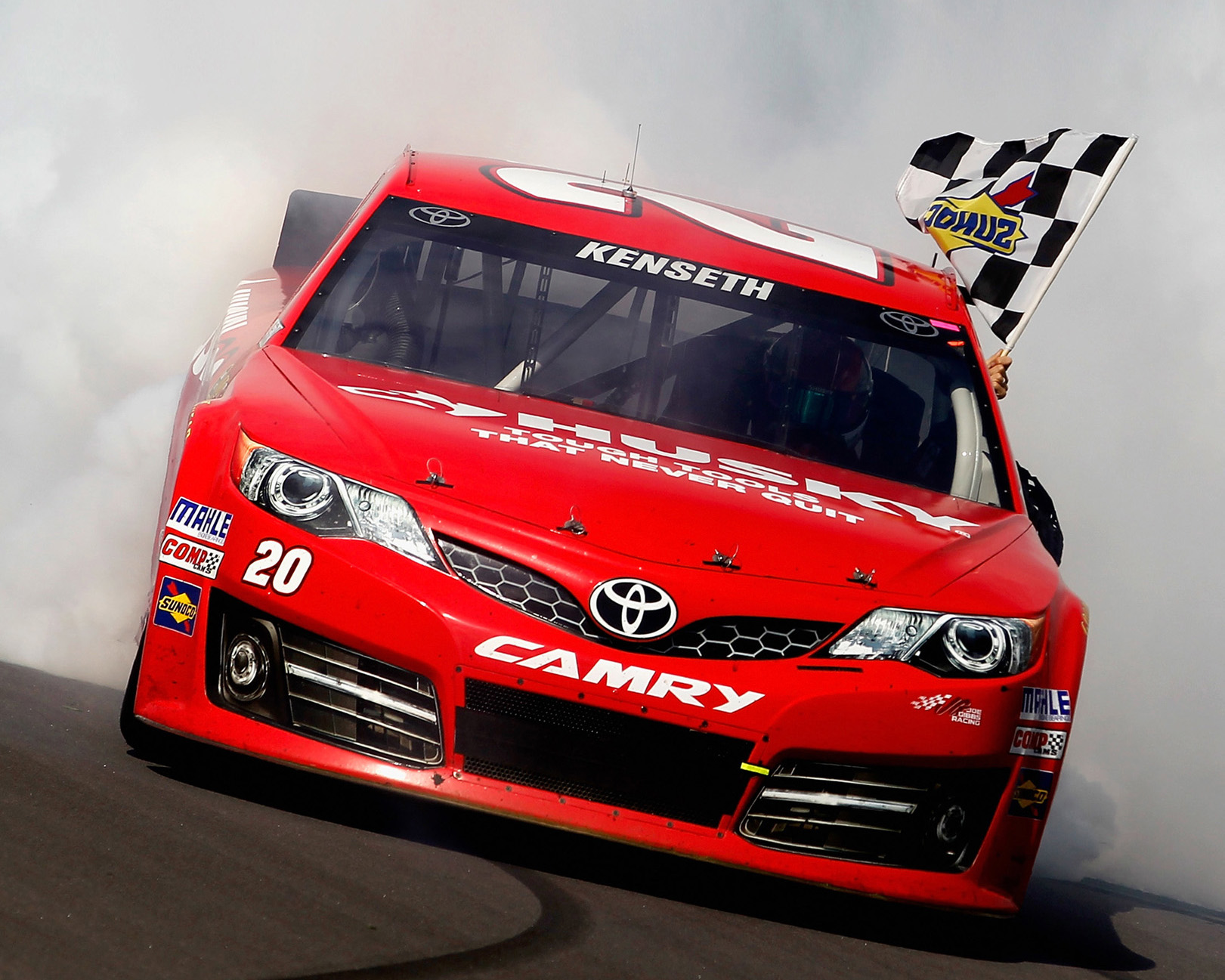 2013 Camry Cup Car, First Race Win