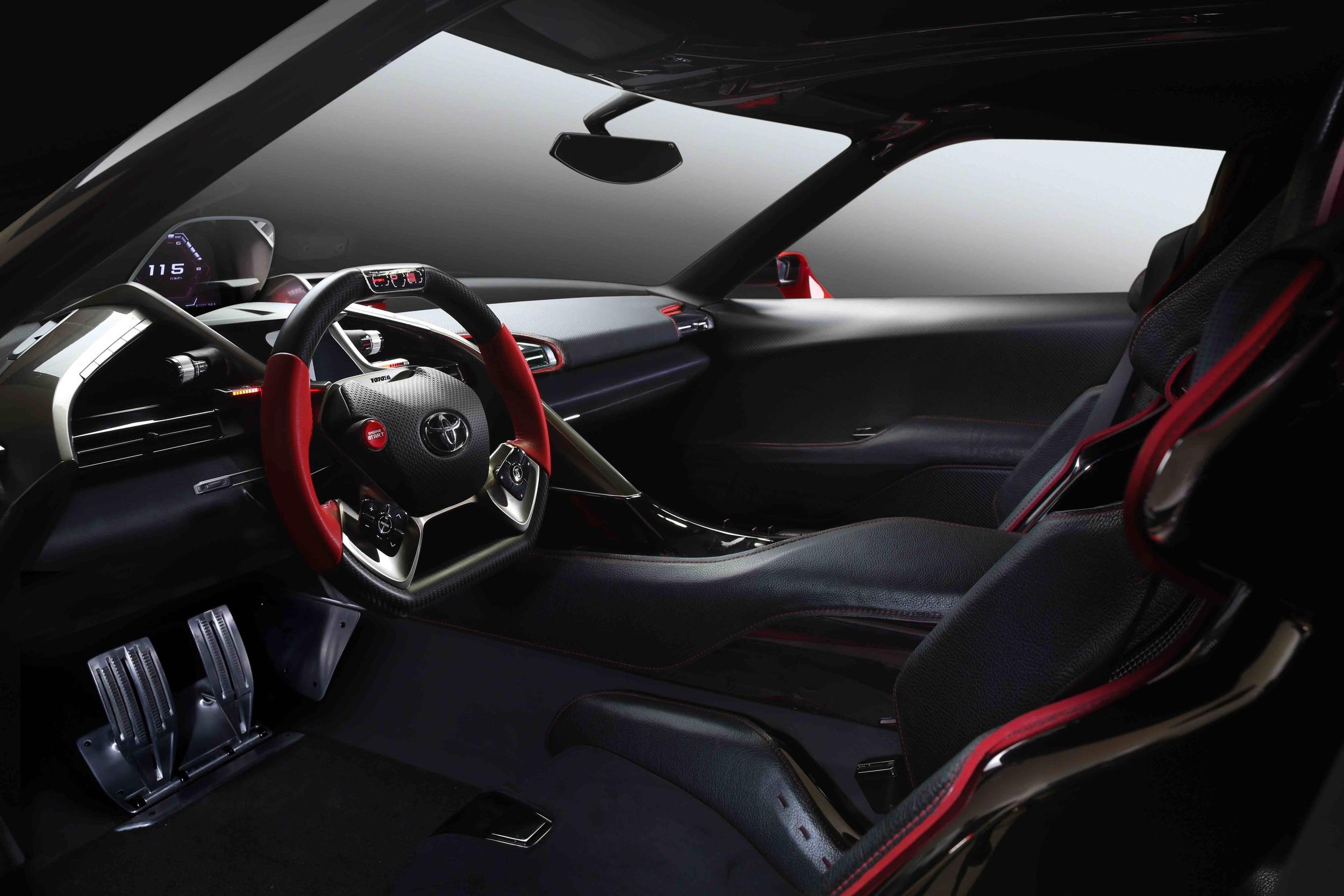 Toyota FT-1 Showcar Interior