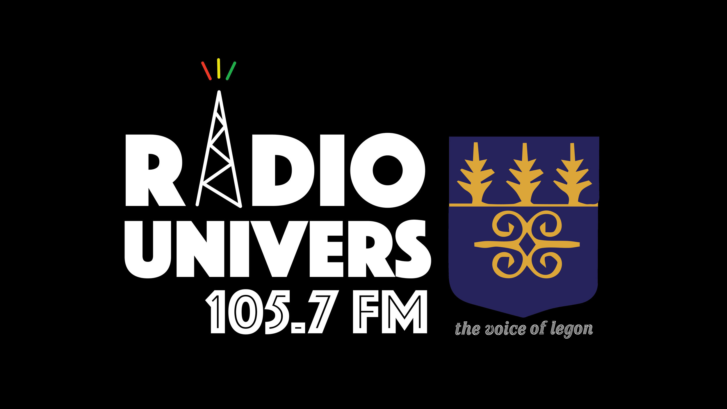 As a team from the University of Oregon we helped re-brand  Radio Univers  a popular student-run radio station on the University of Ghana. This is there current logo that I designed.