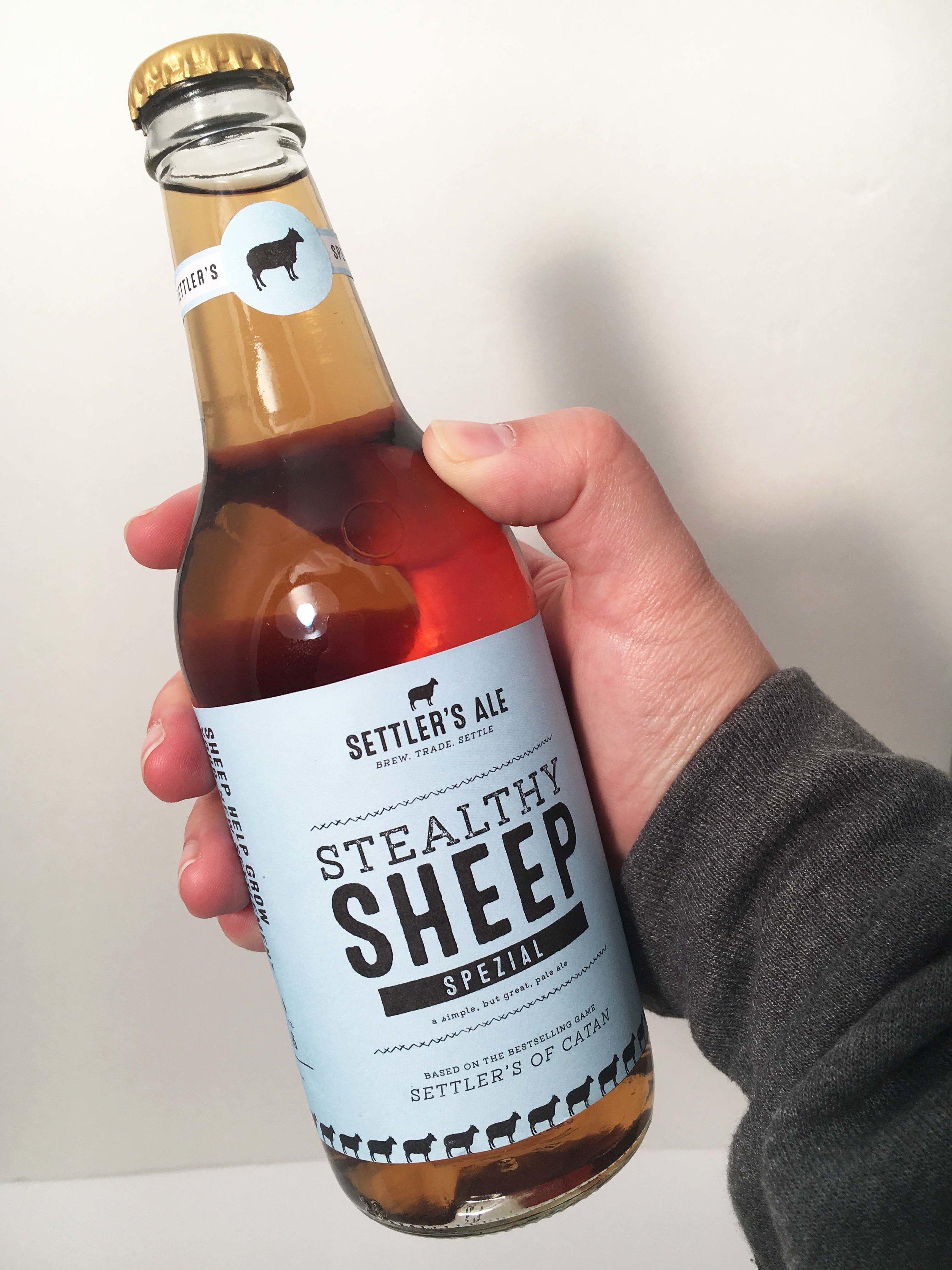 Elizabeth Allebach Settlers of Catan Beer