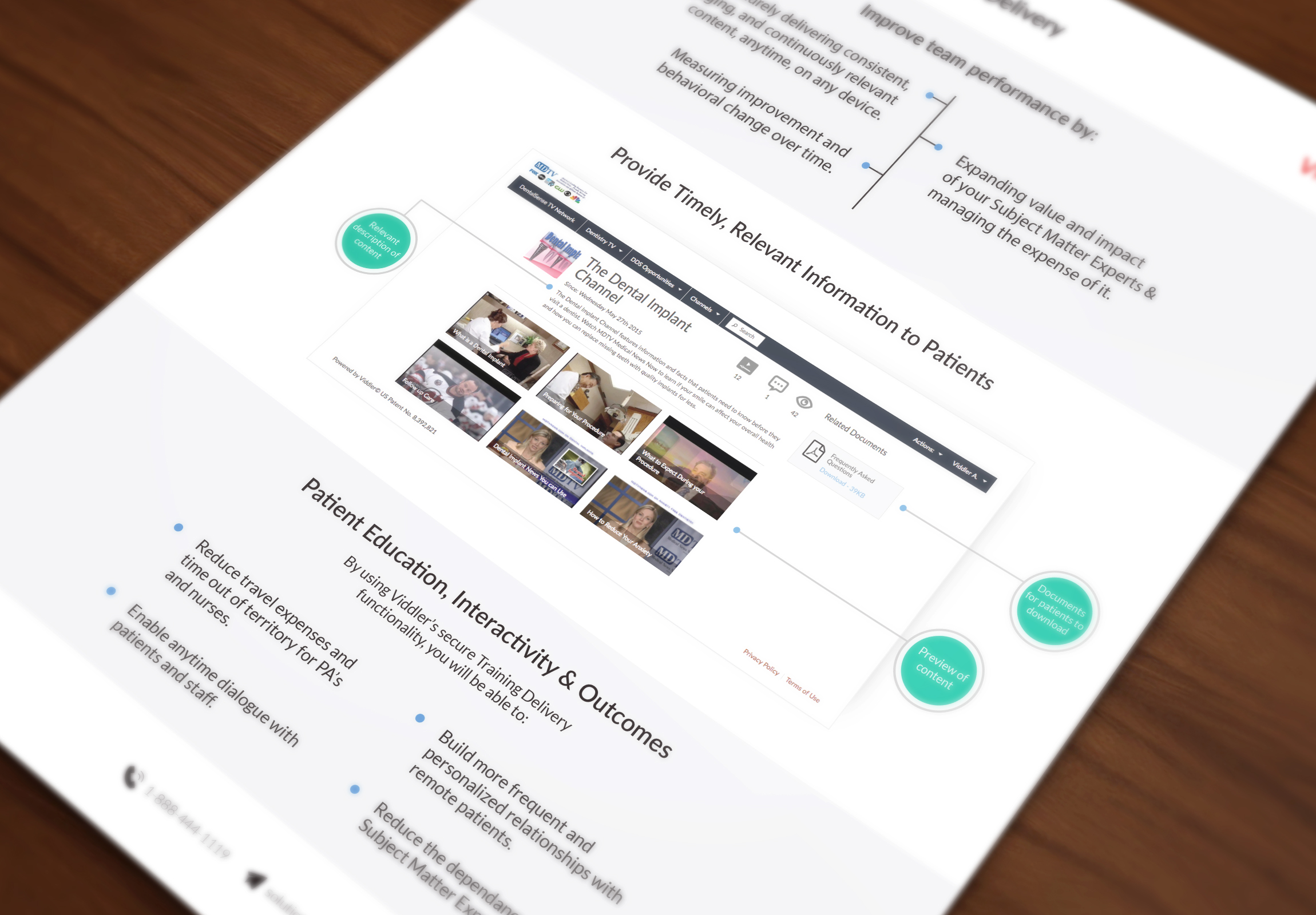 Viddler PDF - Build a Better Relationship with Clinical Trial Patients