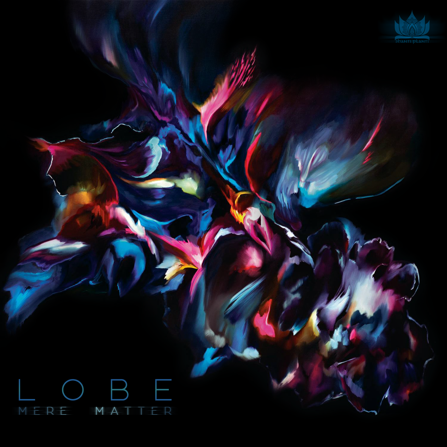 - Lobe is a collaboration between Melbourne based brothers Cody and Jesse Norris,their artful and organic Psy dub sound is a favourite of mine and so i was very pleased when asked to do their album cover art for their debut Ep-Mere matter. I used a painting from 2014 titled Ikaro para conexion.Find their gorgeous music on the link below