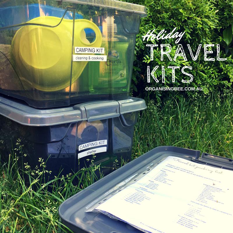 Holiday Travel Kits make packing quicker