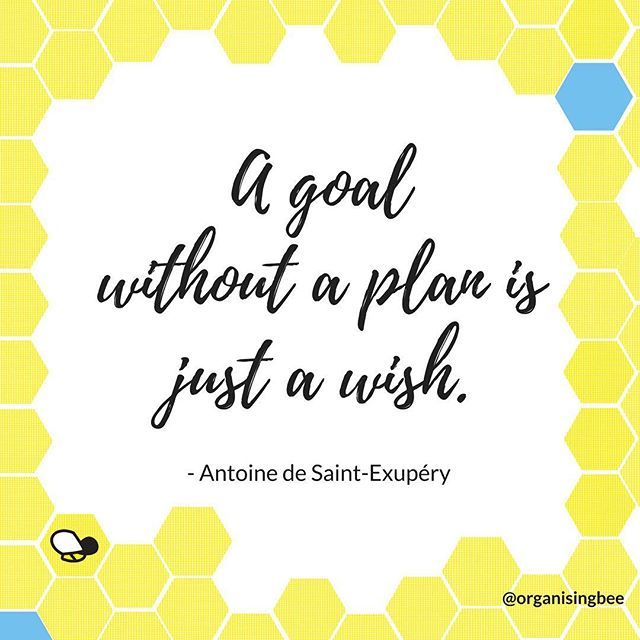 A goal without a plan is just a wish.  Something I often discuss with clients during an organising session is the importance of understanding your true goal and the steps that they will take to achieve that goal.⠀ ⠀ #organisingbee #residentialdecluttering #canberraprofessionalorganiser #organiser #professionalorganisercanberra #organisingcanberra #clutterfree #organisecanberra #organisinglife #familyorganisation #homeorganisercanberra #homeorganiser #professionalorganising #organising #organised #getorganised #canberralocals #canberramums #declutter #goal #quote