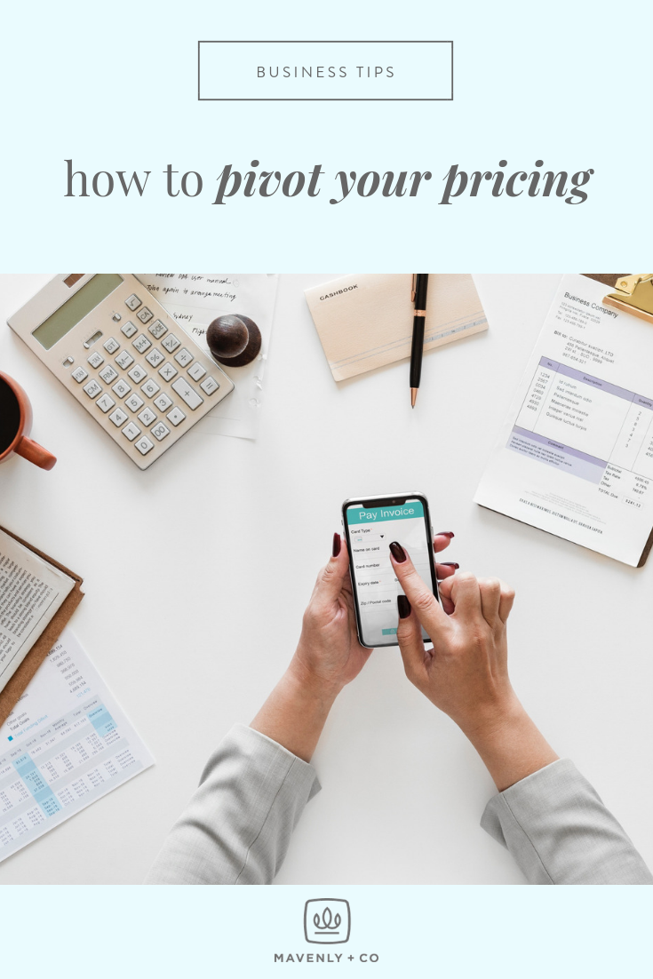 How to Pivot Your Pricing