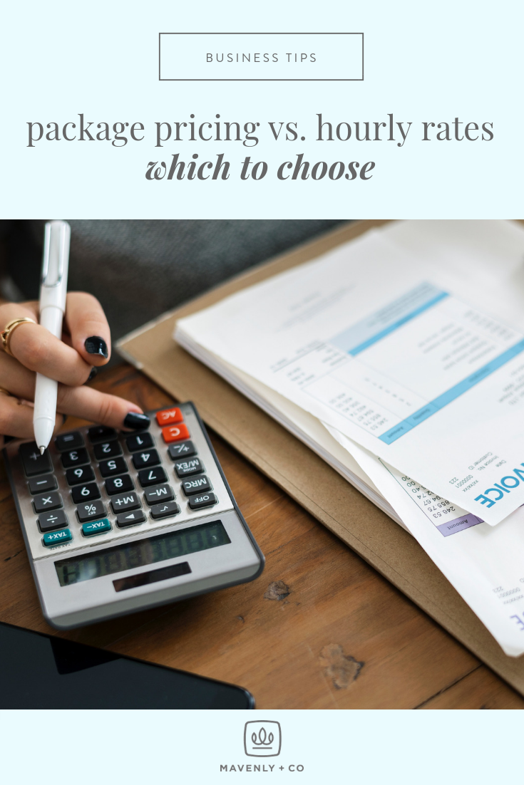 Package Pricing vs. Hourly Rates - Which to Choose