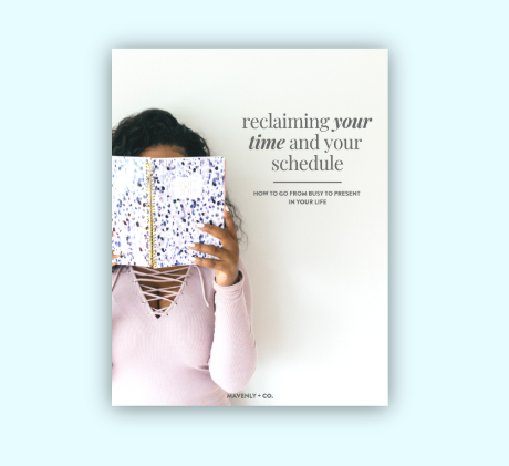 reclaiming your time workbook