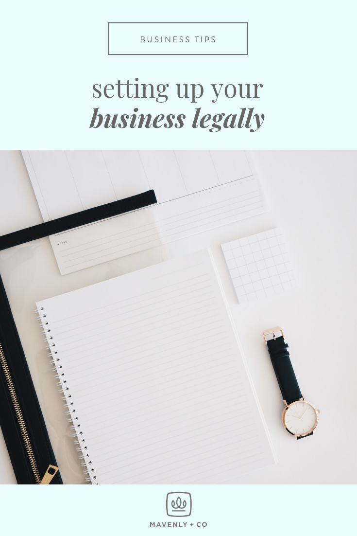 Setting Up Your Business Legally