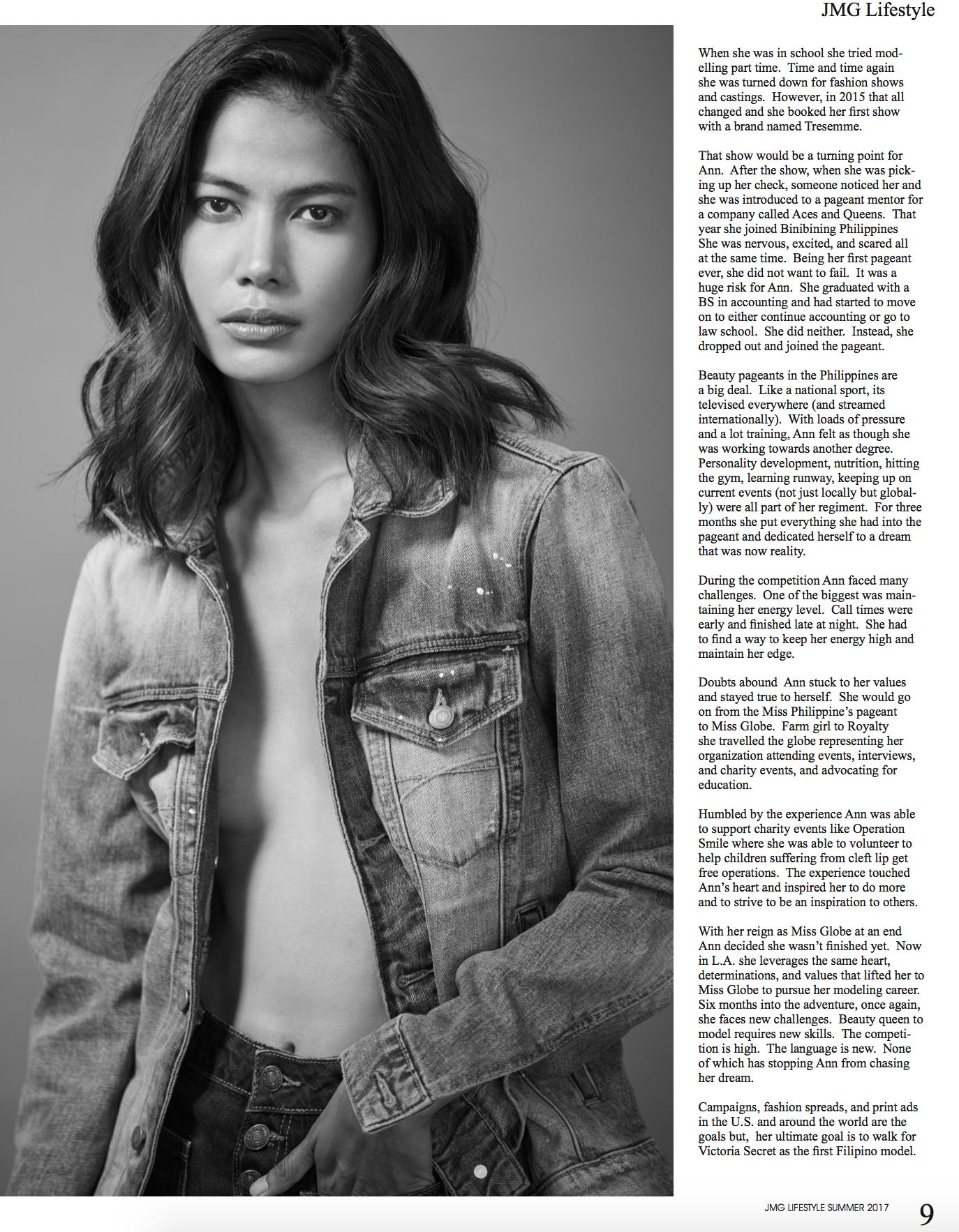 Anne Collis for JMG Lifestyle Magazine, (c) 2017 - Steven Starr