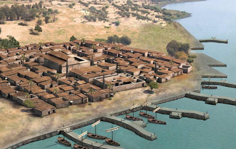 Model of Ancient Capernaum